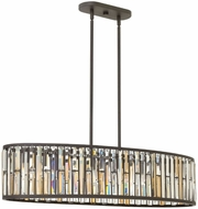 Fredrick Ramond 33738VBZ Gemma Vintage Bronze Kitchen Island Light Fixture