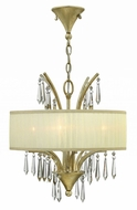 Fredrick Ramond FR40774SLF Camilla Silver Leaf Mini Chandelier Light