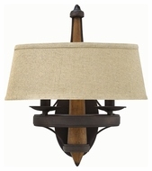 Fredrick Ramond 41242VBZ Bastille Vintage Bronze Finish 16.25  Tall Sconce Lighting