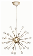Fredrick Ramond 44413POG Impulse Contemporary Polished Gold Finish 24  Wide LED Chandelier Light
