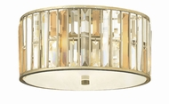 Fredrick Ramond FR33731SLF Gemma Silver Leaf Ceiling Light