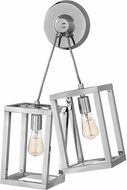 Fredrick Ramond FR42442PNI Ensemble Contemporary Polished Nickel Sconce Lighting