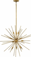 Fredrick Ramond FR43015HBZ Tryst Contemporary Hammered Bronze 30  Chandelier Lighting