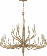 Fredrick Ramond FR43419CPG Spyre Contemporary Champagne Gold Ceiling Chandelier