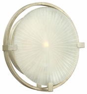 Fredrick Ramond FR43912SLF Helios Large 12 Inch Tall Contemporary Wall Lighting Sconce