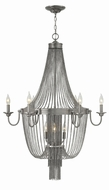 Fredrick Ramond FR44308BNI Regis Brushed Nickel Hanging Chandelier