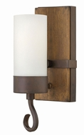 Fredrick Ramond FR48430IRN Cabot Rustic Iron Wall Mounted Lamp