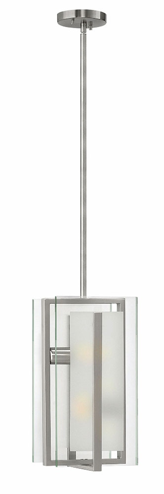 Fredrick Ramond Latitude Modern Brushed Nickel Mini