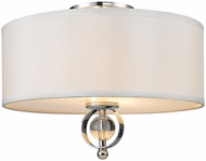 Golden Lighting 1030-FM-CH Cerchi Chrome Ceiling Lighting
