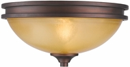 Golden Lighting 1051-FM-SBZ Hidalgo Sovereign Bronze Ceiling Light