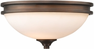 Golden Lighting 1051-FM-SBZ-OP Hidalgo Sovereign Bronze Ceiling Light Fixture