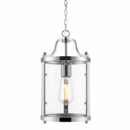 Golden Lighting 1157-M1L-CH Payton Chrome Mini Pendant Lighting Fixture
