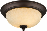 Golden Lighting 1260-11-RBZ-TEA Multi-Family Rubbed Bronze 11  Overhead Lighting