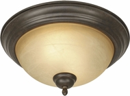 Golden Lighting 1567-13-PC Riverton Peppercorn Flush Lighting