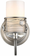 Golden Lighting 1993-BA1-PS Joia Peruvian Silver Halogen Wall Mounted Lamp