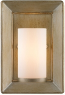Golden Lighting 2073-1W-WG Smyth Contemporary White Gold Wall Sconce Light