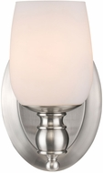 Golden Lighting 2115-BA1-PW-OP Constance Pewter Sconce Lighting