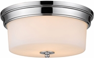 Golden Lighting 2118-FM-CH-OP Multi-Family Chrome Ceiling Light