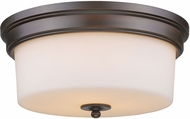 Golden Lighting 2118-FM-RBZ-OP Multi-Family Rubbed Bronze Ceiling Lighting Fixture