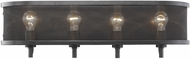 Golden Lighting 3167-BA4-EB Colson EB Contemporary Etruscan Bronze 4-Light Bath Light Fixture