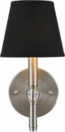 Golden Lighting 3500-1W-PW-GRM Waverly Pewter Wall Sconce Light
