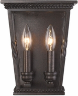 Golden Lighting 4214-WSC-EB Davenport Etruscan Bronze Sconce Lighting