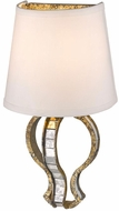 Golden Lighting 5140-WSC-LG Hayworth Contemporary Luxe Gold Wall Mounted Lamp