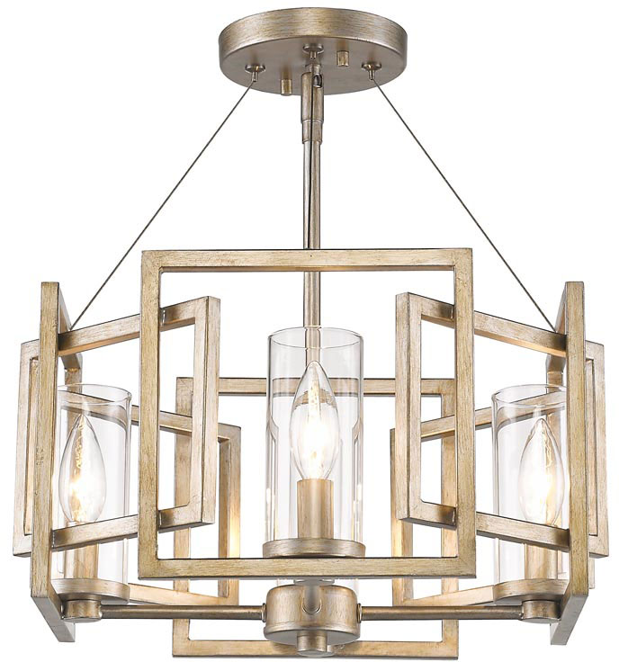 golden lighting 6068sfwg marco modern white gold semiflush flush ceiling loading zoom