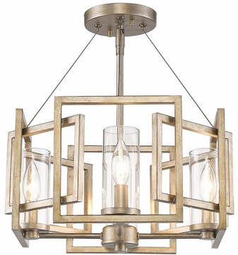 Golden lighting 6068 sf wg marco modern white gold semi flush flush golden lighting 6068 sf wg marco modern white gold semi flush flush ceiling aloadofball Image collections