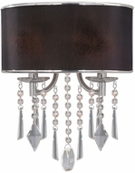 Golden Lighting 8981-WSC-GRM Echelon Chrome Wall Lighting Fixture
