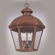 Hi-Lite Manufacturing H-1124-D Traditional 10  Wide Exterior Hanging Lamp