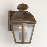 Hi-Lite Manufacturing H-1126-B Traditional 10  Wide Exterior Sconce Lighting