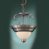 Hi-Lite Manufacturing H-11991-SF Hamilton 14  Wide Pendant Lighting Fixture