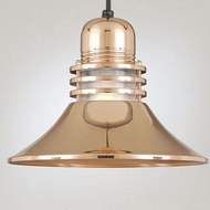 Hi-Lite Manufacturing H-1212-C Retro 12  Wide Hanging Light Fixture