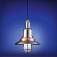 Hi-Lite Manufacturing H-1350-C Retro 12  Wide Hanging Light