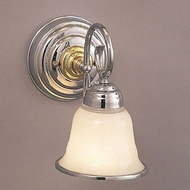 Hi-Lite Manufacturing H-1965-1B 6  Wide Wall Light Sconce
