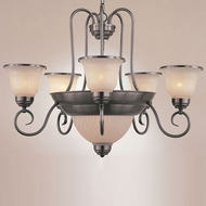 Hi-Lite Manufacturing H-1965-D Hamilton 25  Wide Chandelier Light