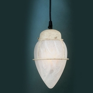 Hi-Lite Manufacturing H-2021-C-WGR 5  Wide Mini Hanging Pendant Lighting