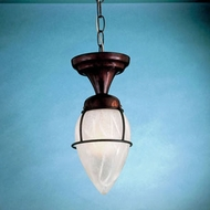 Hi-Lite Manufacturing H-2021-F-WGR 13  Tall Mini Pendant Hanging Light