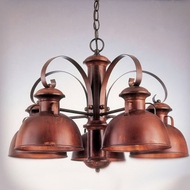 Hi-Lite Manufacturing H-2035-D Breckenridge 17  Tall Chandelier Lighting