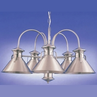 Hi-Lite Manufacturing H-2045-D Newport 15  Tall Lighting Chandelier