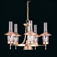 Hi-Lite Manufacturing H-235-D 24  Wide Mini Ceiling Chandelier