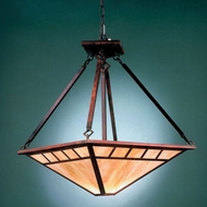 Hi-Lite Manufacturing H-2870-D Craftsman 17  Wide Pendant Hanging Light