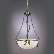 Hi-Lite Manufacturing H-2975-D-106 St Charles Florentine Green Finish 23  Tall Drop Ceiling Lighting