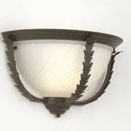 Hi-Lite Manufacturing H-2984-B Brentwood 10 Tall Lighting Wall Sconce