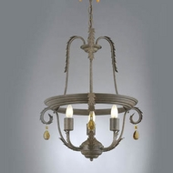 Hi-Lite Manufacturing H-2989-D Brentwood 21  Wide Mini Chandelier Lighting