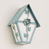 Hi-Lite Manufacturing H-2E-B 9 Wide Exterior Wall Sconce Lighting
