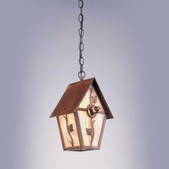 Hi-Lite Manufacturing H-2E-D 12  Tall Outdoor Mini Pendant Lamp