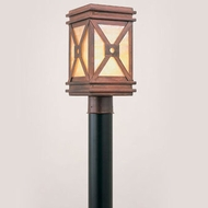 Hi-Lite Manufacturing H-3171-P 7  Wide Exterior Post Lamp