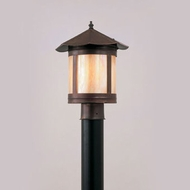 Hi-Lite Manufacturing H-3181-P 14  Tall Exterior Lamp Post Light